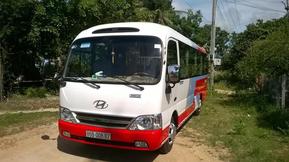 Dịch vụ xe du lịch – Xe 7 chỗ, 16 chỗ, 29 chỗ.